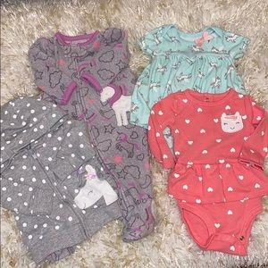 Baby girl Unicorn Bundle 🦄